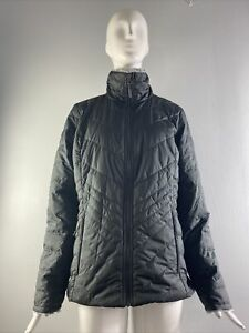 NWOT The North Face Women's Mossbud Insulated Reversible Jacket Grey Size M