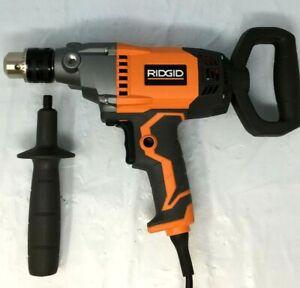 "RIDGID 1/2"" 9 Amp Spade Handle Mud Mixer Drill Driver R7122  LN"
