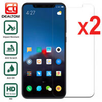 2X Tempered Glass Screen Protector For Xiaomi 8 5X 6X Redmi 5 6 6A S2 Note 5A 4X