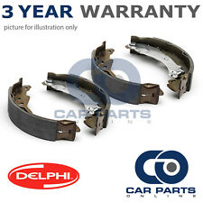 REAR DELPHI LOCKHEED BRAKE SHOES FOR FIAT PANDA 1.1 1.2 1.3 D (2003-2009)