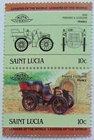 1899 PANHARD LEVASSOR Car Stamps (Leaders of the World / Auto 100)
