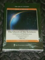Great Courses Teaching Company THE QUEEN OF THE SCIENCES HISTORY DVD Set New