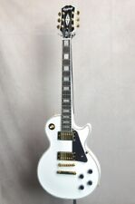 New Epiphone Inspired by Gibson Les Paul Custom Alpine White 2020 Guitar