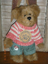 "Boyds Bears Plush (Spring 1999) ~ 8"" Edmund ~ Springtime Bear Style #9175-11"