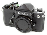 Nikon F2 Eye-level 35mm SLR Film Camera Body Only - Black