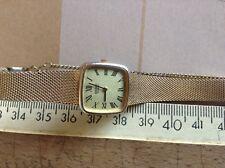 montre vintage femme quarz seiko plaquée or, Japan nº 040967