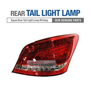 OEM Genuine Parts Rear Tail Light Lamp RH Assambly for HYUNDAI 2009-2016 Equus