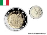 2 Euros Commémorative Italie 2018 Santé UNC