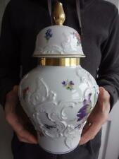 "KPM Royal Porzellan Baluster Shape No 938/29 Tea Caddy Ginger Jar & Cover 11.5"""