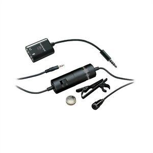 AUDIO TECHNICA MICROPHONE ATR3350IS LAVALIER CONDERSER SMARTPHONE *RTND1* P40639