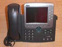 Cisco CP-7971G-GE IP Phone Telefon VoIP same as CP-7975G