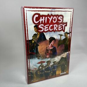 Wizkids NECA Chiyo's Secret JB Howell Board Card Game Role Playing NEW SEALED
