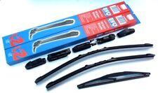 QH Vauxhall Zafira MK2 Front & Rear Windscreen Wiper Blade Set (QH28/22/RB-14)
