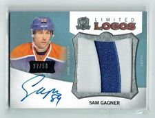 12-13 UD The Cup Limited Logos  Sam Gagner  /50  Auto  Patch