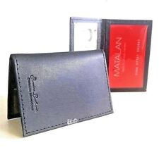 20 x Credit Card Travel Pass Oyster ID Holder Leatherite Black (Lot)