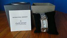 Claude Bernard Womens 20083 3 NAP Dress Code Analog Display Swiss Quartz Watch