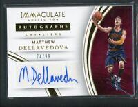 2015-16 Matthew Dellavedova 74/99 Auto Panini Immaculate Autographs