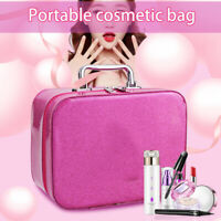 Portable Cosmetic Bag Makeup Case Cosmetic Storage Box Organizer Travel
