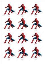 Novità Spiderman Commestibili Decorazioni per Torta Cupcake Decorazioni festeggiato MARVEL