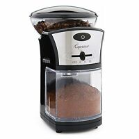 New Capresso 12-Cup 1/2lb Whole Bean Coffee Burr Grinder - 559.04