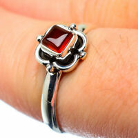 Garnet 925 Sterling Silver Ring Size 8 Ana Co Jewelry R27239F