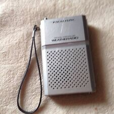 VINTAGE REALISTIC POCKET WEATHER RADIO -  MODEL 12-151A - WEATHERADIO