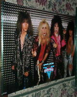 VINNIE VINCENT  (KISS) Band Vintage Poster -