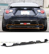 For 2013-2016 Subaru BRZ & Scion FR-S FRS 86 Rear Add-on Bumper Lower Diffuser