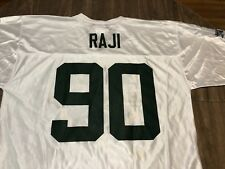 BJ Raji Green Bay Packers Large White Jersey 2010 NFC Champs NFL Team Apparel