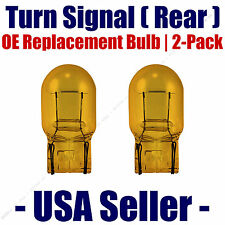 Rear Turn Signal/Blinker Light Bulb 2-pack Fits Listed Chevrolet Vehicles 7440NA