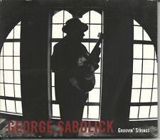 George Sabolick Groovin' Strings CD 2004 Very Clean