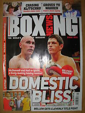 BOXING NEWS 1 SEPTEMBER 2011 JAMIE McDONNELL v STUEY HALL FIGHT PREVIEW