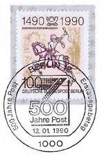 Berlin 1990: Post 500 Jahre Nr. 860 mit sauberem Ersttagssonderstempel! 1A! 1811