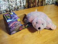 "Boys & Girls New SHIMMERING SEAL 16"" Lites Up MAGICAL GLOW PILLOW PETS"