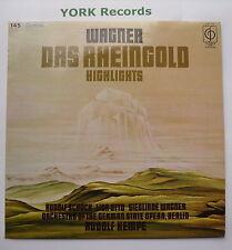 PPC 109-Wagner-Das Rheingold destaca Rudolf Kempe-ex con Disco Lp