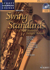Schott Saxophone Lounge Swing Standards Alt Play-Along Noten CD Dirko Juchem