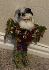 Mark Roberts Collections Santa Elf Fairy Purple Green Red Gold Fancy