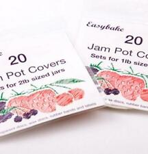 Easybake 20 Jam Pot Cover Set for 2lb Sized Jars