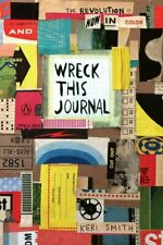NEW Wreck This Journal Now In Colour By Keri Smith Paperback Book FREE SHIPPING