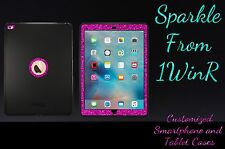 Glitter Otterbox Custom Defender iPad Pro 12.9 Gen. 1 Black/Raspberry Sparkle