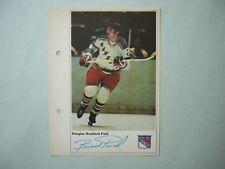 1971/72 TORONTO SUN NHL ACTION HOCKEY PHOTO BRAD PARK SHARP!! 71/72 TORONTO SUN