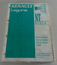 Manual de Taller Eléctrico/Eléctrico Diagramas de Cableado Renault Laguna 1998