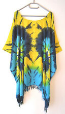 Damen Tunika Bluse Shirt Blau mit Delfinen 2XL 3XL 4XL 52 54 56 58 60 G179