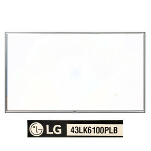 Marco Frontal plata LG 43LK6100PLB NUEVO