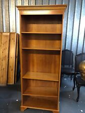 Cherry Wood Coloured Bookcase Shelf Unit Used MAKE ME AN OFFER