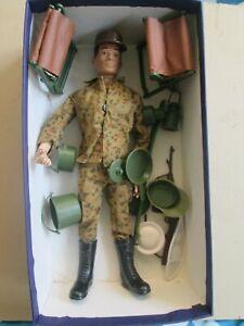 Vintage Mego Fighting Yank action figure bootleg GI Joe action Man uniform xtras