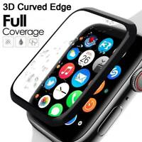 FULL COVER Tempered Glass Screen Protector For Apple Watch 38&40&42&44mm iWatch