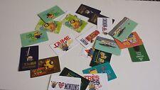lot de cartes minions carrefour