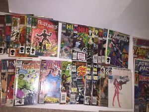 Marvel Comics Lot Elektra, Punisher, Hulk, Wolverine