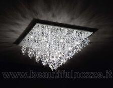 Plafoniere Cristallo Bagno : Plafoniere cristallo bagno: lampadari da soffitto blu bagno ebay